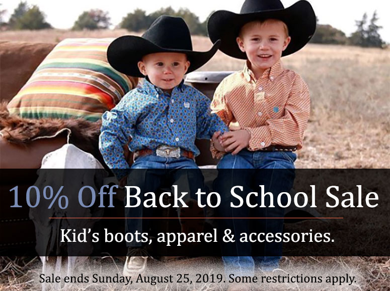 Back to School Sale - 10% Off Entire Order until Sunday, August 25, 2019