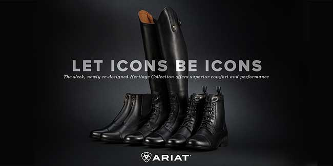 Let Icons be Icons. The sleek, newly re-designed Heritage Collection by Ariat offers superior comfort and performance.