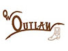 Old West Outlaw Cowboy Boots
