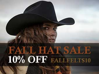 Fall Hat Sale - 10% OFF on Select Felt Hats - Use Coupon Code FALLFELTS10 upon checkout.