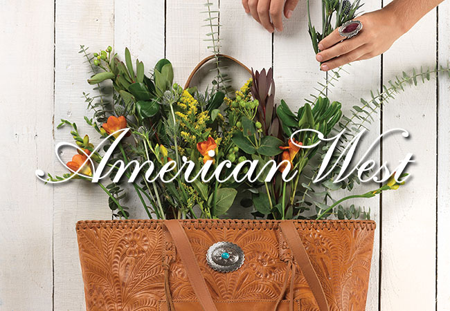 American West Handbags & Accessories - Handtooled, One at a Time