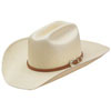 American Hat Co 100★ 3 BU Shantung Straw Hat - Clear Lacquer