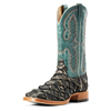 Ariat Men's Deep Water Big Bass Pirarucu Boots - Slate/Matte Blue