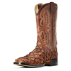 Ariat Men's Deep Water Big Bass Pirarucu Boots - Cafe/Adobe Tile