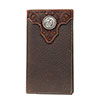 Ariat Premium Leather Rodeo Wallet w/Tooled Overlay