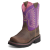 Ariat Fatbaby Kid's Thunderbird Cowgirl Boots - Brown/Amethyst