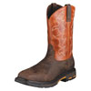 Ariat Men's WorkHog Square Toe Steel Toe Work Boot - Dark Earth