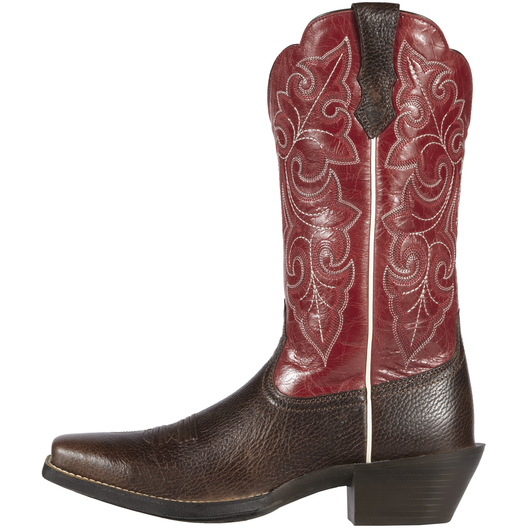 Ariat Men's Tan Fast Action Leather Cowboy Boots - Square Toe $ Original Price $ Sale $ (20% Coupon) $ 33% Total Savings Warehouse In Stock.