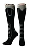 Ariat  Knee High Boot Socks - Black Lace-up