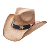 Charlie 1 Horse Stars & Stripes Straw Hat