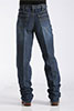 Cinch Men's Black Label Sandblast Jeans - Dark Indigo