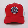 Cinch Men's Mesh Trucker Snap Back - Red