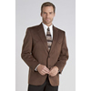 Circle S Men's Houston Microsuede Sport Coat - Chestnut