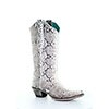 Corral Women's Natural Python Boots