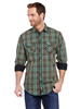 Cowboy Up Men's Vintage L/S Woven Shirt - Green