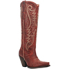 Dan Post Women's Marika Tall Leather Fashion Boots - Vintage Red