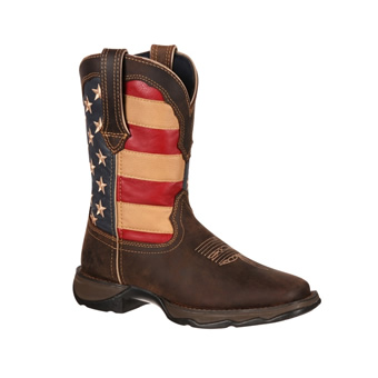 Lady Rebel by Durango Women's Patriot Pull-On Western Work Boot