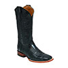 Ferrini Men's Genuine Alligator Belly S Toe Boots - Black