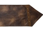 Rustic Faux Leather Table Runner