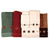 Embroidered Barn Star Towel Set