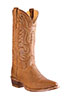 Old West� Outlaw Men's Round Toe Boots � Tan
