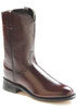 Old West Men's Roper Boots - Black Cherry