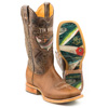 Tin Haul Men's Alpha Angler Boots w/Fishing Lure Sole