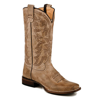 Roper Ladies Sense 1 Concealed Carry Boots - Waxy Taupe