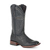 Stetson Men's JBS Alligator Square Toe Boots - Blue/Black