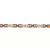 Beaded Sketch Hatband - Aztec