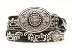 Ariat Women's Rhinstone Belt- Black