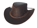 Bullhide Cedar Groove Leather Hat