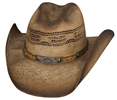 Bullhide Full Speed Straw Hat