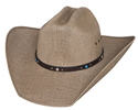 Bullhide NRA Country 50X Straw Hat