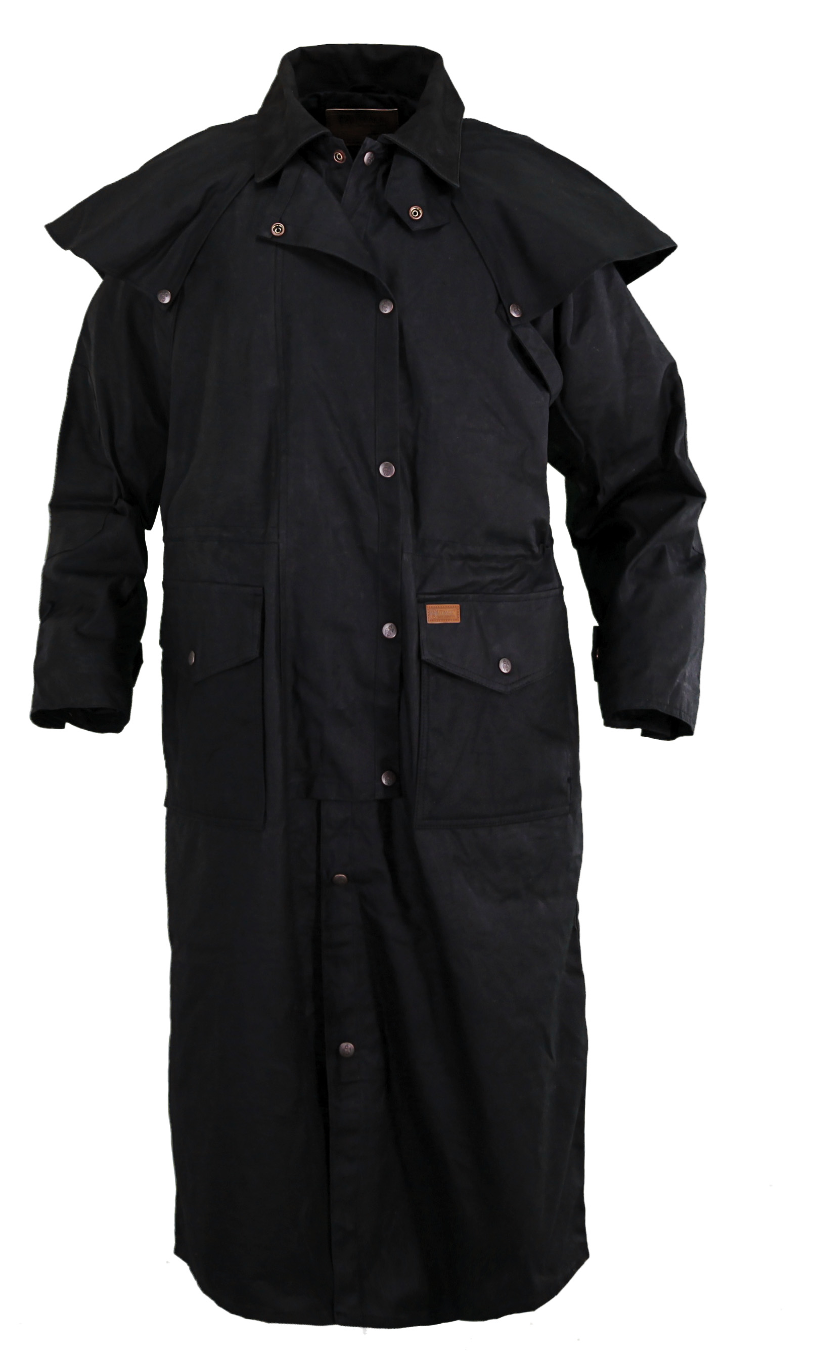 Pungo Ridge Outback Men S Stockman Oilskin Duster
