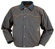 Outback Men's Oilskin Trailblazer Jacket - Bronze