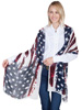 Scully Honey Creek American Flag Scarf