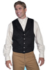 Men's WAH MAKER 4 Pocket Wool Vest - Heather Black