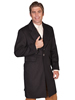 Men's WAH MAKER Wool Blend Frock Coat - Heather Black