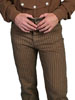 Men's WAH MAKER Rail Stripe Pants - Taupe