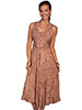 Scully Honey Creek Lace Front Sleeveless Dress - Beige