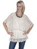 Scully Honey Creek  Crochet Top - Natural