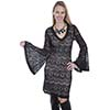 Scully Honey Creek Black Lace Dress w/Nude Lining