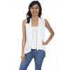 Scully Honey Creek Lace Knit Vest - Ivory
