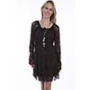 Scully Honey Creek Ladies Lace Dress - Chocolate