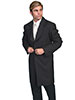 Scully Men's RangeWear Long Black Frock Coat