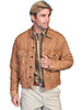 Scully Men's Washed Lamb Jean Jacket - Tan
