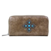 Way West Stacy Wallet - Brown