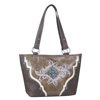 Way West Stacy Concealed Carry Tote Bag - Brown