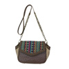 Catchfly Hillary Mexican Blanket Crossbody Bag - Multi